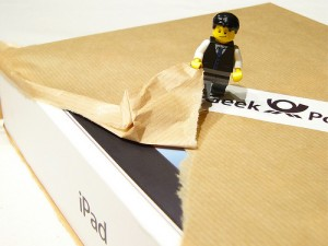 Les Lego ont reçu leur iPad