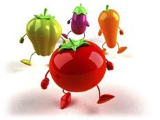 Les légumes en concert
