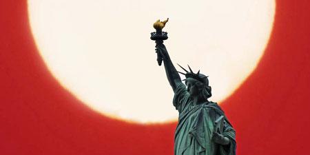 Statut de la Liberté, symbôle de NYC